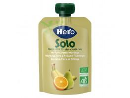 Hero Baby Solo ecológico plátano pera y naranja bolsa 100g